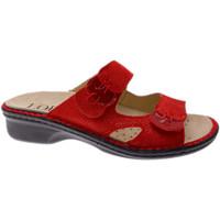 Chaussures Femme Mules Calzaturificio Loren LOM2772ro rosso