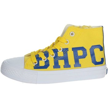 Chaussures Enfant Baskets montantes Beverly Hills Polo Club BH4036 Sneakers Enfant Jaune Jaune