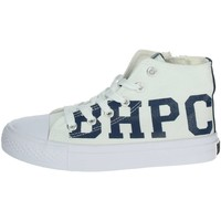 Chaussures Enfant Baskets montantes Beverly Hills Polo Club BH4036 Sneakers Enfant Blanc Blanc