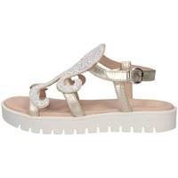 Chaussures Enfant Sandales et Nu-pieds Florens F781426D PLATINO/BIA Platinum / Blanc