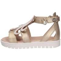 Chaussures Enfant Sandales et Nu-pieds Florens E698626D PLATINO/BIA Platinum / Blanc