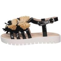 Chaussures Enfant Sandales et Nu-pieds Florens F780328V NERO/BEIGE Noir / Beige