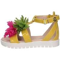 Chaussures Enfant Sandales et Nu-pieds Florens E698828P GIALLO/FUXI Jaune / fuscia