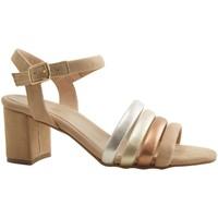 Chaussures Femme Sandales et Nu-pieds Reqin's POUPA BEIGE