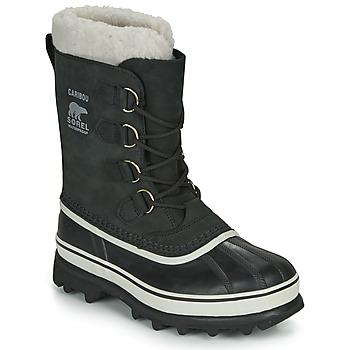Chaussures Femme Bottes de neige Sorel CARIBOU Black