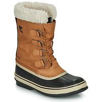 Chaussures Femme Bottes de neige Sorel WINTER CARNIVAL Camel