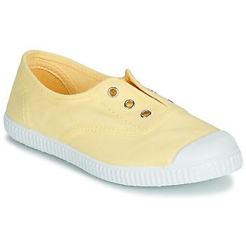 Chaussures Fille Sandales et Nu-pieds André LES VACANCES Jaune