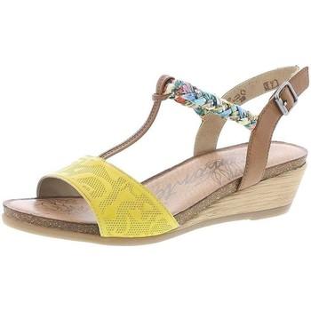 Chaussures Femme Sandales et Nu-pieds Remonte Dorndorf R4459 Jaune
