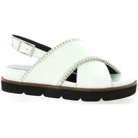 Chaussures Femme Sandales et Nu-pieds Adele Dezotti Nu pieds cuir Blanc