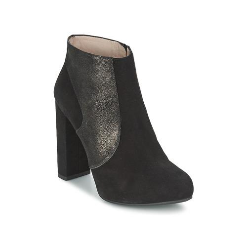 Chaussures Femme Bottines Unisa SAFIR Noir