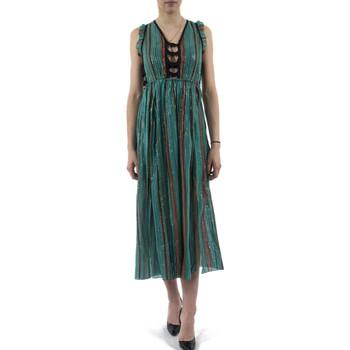 Vêtements Femme Robes longues Bsb 041-211007 vert