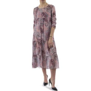 Vêtements Femme Robes longues Bsb 041-211034 rose