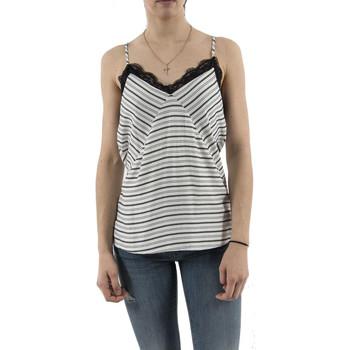 Vêtements Femme Tops / Blouses Bsb 141-210009 blanc