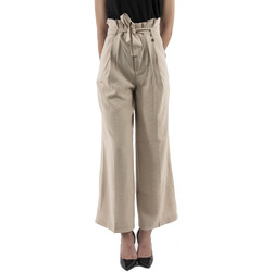 Vêtements Femme Pantalons fluides / Sarouels Bsb 041-212033 beige