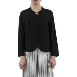 Vêtements Femme Vestes / Blazers Bsb 041-214004 noir