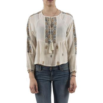 Vêtements Femme Tops / Blouses Bsb 041-240001 blanc