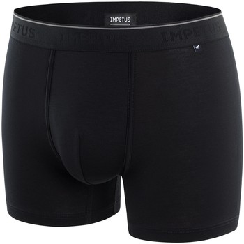 Sous-vêtements Homme Boxers Impetus Travel Boxer homme en lyocell Travel noir Noir