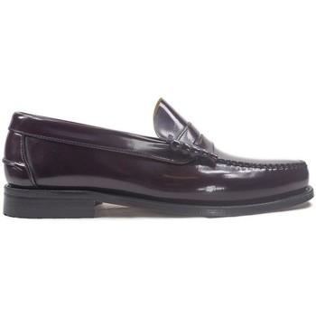 Chaussures Homme Mocassins La Valenciana Zapatos  3266 Burdeos rouge
