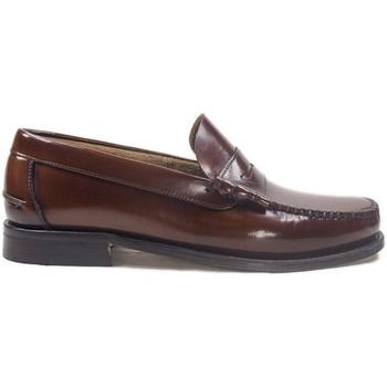Chaussures Homme Mocassins La Valenciana Zapatos  3266 Cuero Marron