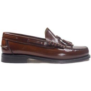 Chaussures Homme Mocassins La Valenciana Zapatos  3270 Cuero Marron