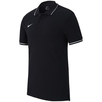 Vêtements Homme Polos manches courtes Nike Polo TM Club 19 Noir