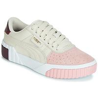 Chaussures Femme Baskets basses Puma CALI REMIX Blanc / Rose