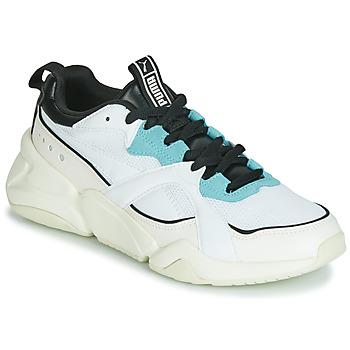 Chaussures Femme Baskets basses Puma NOVA 2 Blanc