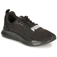 Chaussures Baskets basses Puma PUMA WIRED.BLK Noir