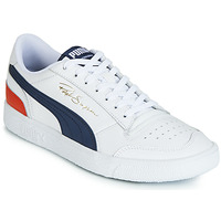 Chaussures Homme Baskets basses Puma RALPH SAMPSON LO Blanc / Bleu / Rouge
