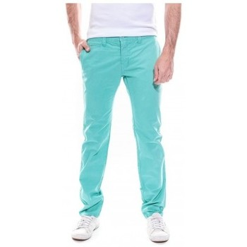 Vêtements Homme Chinos / Carrots Kapsule Pantalon chino slim KJ CARTER Vert