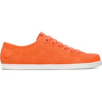 Chaussures Femme Baskets basses Camper Baskets cuir UNO orange