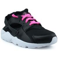 Chaussures Baskets basses Nike Basket  Huarache Run Enfant Noir 704951-007 Noir