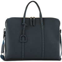 Sacs Porte-Documents / Serviettes Etrier Porte-documents Tradition cuir TRADITION 709-00EHER81 MARINE