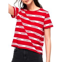 Haut Femme Superdry Côte Ouest à Rayures T-Shirt