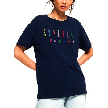 T-shirt Superdry PAULO EMBROIDERED TEE