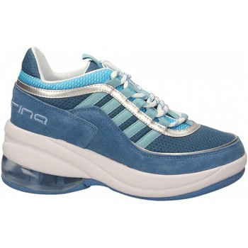Chaussures Femme Baskets basses Fornarina UP blue