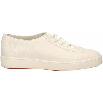 Chaussures Homme Baskets basses Santoni TENNIS 6F+T.LIS+INF. SUMMER i48-bianco