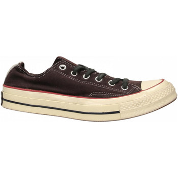 Chaussures Homme Baskets basses Converse CHUCK 70 CANVAS LTD OX wine-red-black