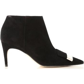 Chaussures Femme Bottines Sergio Rossi A80000 MCAZ01 1000 nero