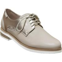 Chaussures Femme Derbies Mephisto Rubia Beige/platine cuir