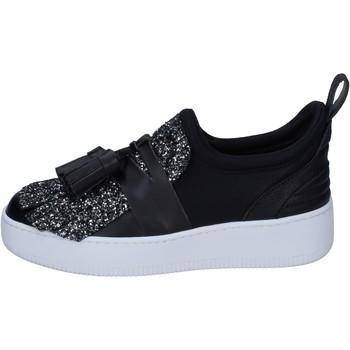 Chaussures Femme Slip ons My Grey Mer slip on textile noir