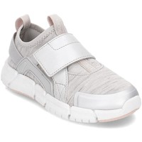 Chaussures Enfant Slip ons Geox Junior Flexyper Gris, Argent