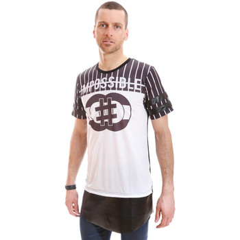 T-shirts manches courtes Celebry Tees Tshirt Oversize Big Tape