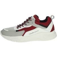 Chaussures Homme Baskets basses Crime London 11527PP1.71 Gris/Rouge