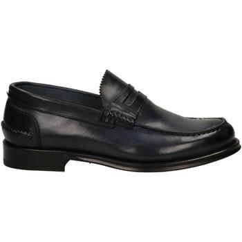 Chaussures Homme Mocassins Brecos VITELLO blu