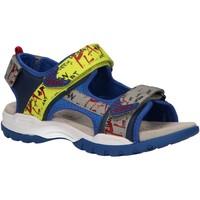 Chaussures Garçon Sandales et Nu-pieds Geox J920RA 05415 J BOREALIS Azul