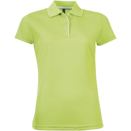 Vêtements Femme Polos manches courtes Sols PERFORMER SPORT WOMEN Verde