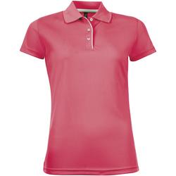 Vêtements Femme Polos manches courtes Sols PERFORMER SPORT WOMEN Rosa