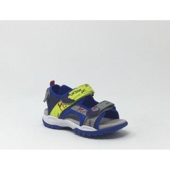 Chaussures Sandales et Nu-pieds Geox J BOREALIS GARCON MARINE/JAUNE Jaune