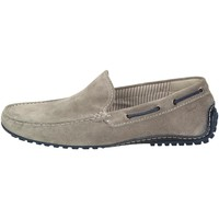 Chaussures Homme Mocassins Callimo  Velour gris